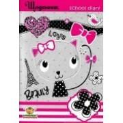 """Щоденник шкільний """"KITTY"""" (м'яка обкл., 96 ст.)  - ТМ """"Мандарин"""" Щ-В5-48-KITTY-03"""