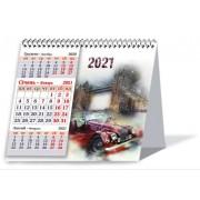 """Календар-шалаш на 2021 рік перекидний, квартальний - ТОВ """"ПП """"Фоліо Плюс"""" 769"""