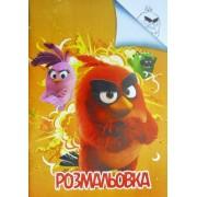 """Розмальовка А4 проста """"Angry Birds"""", Jum-01"""