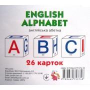 """Картки-міні """"English alphabet: 26 карток"""", ТМ Jumbi 2821-83"""