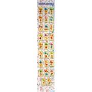 """Закладка картонна """"Англійська абетка"""" - Jum-2876-96 (10 шт.)"""