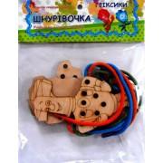 """Гра-шнурівка дерев'яна (За мотивами мультфільму """"Фіксики""""), Jum-3399-48"""