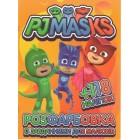 """Розмальовка А4 """"PJMASKS"""" (118 наліпок) """"ТМ Jumbi"""", Jum-447"""
