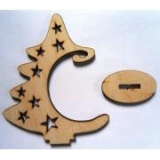 """Іграшка дерев'яна на підставці """"Ялинка"""", Jum-131"""