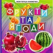 """Книга-картонка міні """"Фрукти та ягоди"""", ТМ Jumbi VR06041706-141"""