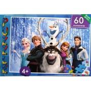 """Пазл, 60 элементов, """"Frozen"""" - SHJ231-06"""