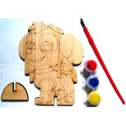 "Розмальовка дерев'яна фігурна ""Цуценячий патруль"", Jum-DR7464-231"