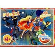 Пазл, 80 елементів, Jum-P-80-SHJ253-20 (Super Hero Girls)