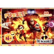 Пазл, 80 елементів, Jum-P-80-SHJ257-24 (The Incredibles)