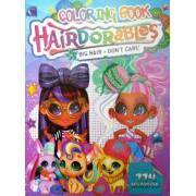"""Розмальовка розвивальна """"Hairdorables"""" (кольорова основа, 114 наліпок, іграшка) - G23-04-467"""