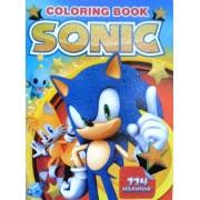 """Розмальовка розвивальна """"Sonic"""" (кольорова основа, 114 наліпок, іграшка) - G23-09-467"""