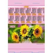 Календар-палатка на 2020 рік (стійка) КП-02