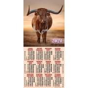 Календар-плакат третинка на 2020 рік (природа) ТР-02