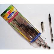 Ручка шариковая Finegrip черная (5 шт.)
