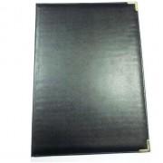 """Папка вітальна ППВ-5 """"Miradur"""" чорного кольору 330х230мм. з бумвинилу без надпису ППВ-5"""
