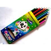Карандаши цветные 12 цветов 215/12-BL (Собачка)