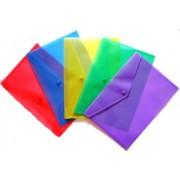 Папка-конверт А-4 на кнопке пластиковая 4Office 4-203