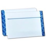 """Конверт почтовый С6 (114х162 мм), мокроклеющийся, белый, """"Вышиванка"""", 75 г/м2"""