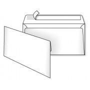 Конверт почтовый DL (110х220 мм), самоклеющийся с отрывной лентой, белый, 75 г/м2