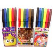 Фломастери 6 кольорів для дівчаток 828-6