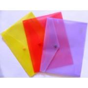 Папка-конверт В5 на кнопке пластиковая NORMA 5018