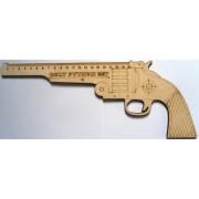 """Линейка деревянная """"Colt Python 357"""" 20 см"""