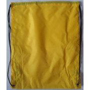 Сумка для обуви (рюкзак-котомка, 34х43 см) желтая