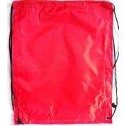 Сумка для обуви (рюкзак-котомка, 34х43 см) красная