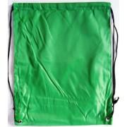 Сумка для обуви (рюкзак-котомка, 34х43 см) зеленая