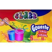 Фарби гуашеві 6 кольорів - CLASS-7617