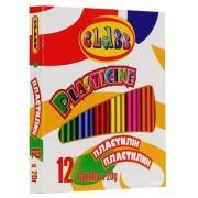 """Пластилін """"CLASS"""", 12 кольорів, 240г., № 7624"""