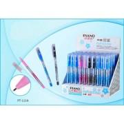 Ручка масляная PIANO PT-111A (1 шт., синяя)