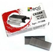 "Скобы для канцелярского степлера №24/6, 1000 шт. ""ECO EAGLE"" - TY-1008"