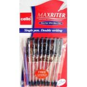 Ручка шариковая масляная Maxriter Cello  (10 шт., синяя)