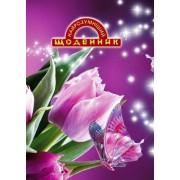 """Щоденник шкільний """"Найрозумніший. Тюльпан, метелик"""" (тв. обкл.)  - ТОВ """"Аркуш"""" 1B1156-23"""