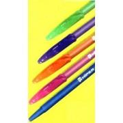 Ручка масляна з пастою синього кольору HIPER POLO HO-1158 (1 шт., колір корпусу в асортименті)