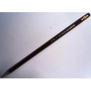 Олівець чорнографітний з гумкою KOH-I-NOOR 13860HB001TD (1 шт.)