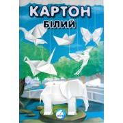 """Картон білий (А4, 7 арк.) - ТОВ """"Аркуш Трейд"""" 1В601"""