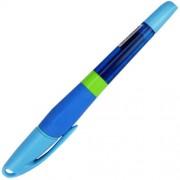 """Ручка-ролер масляна """"Тренажер почерку"""", синя - CLASS-305 (1 шт., колір корпусу в асортименті)"""