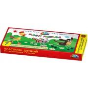 """Пластилін """"Гамма"""" (7 кольорів, 105 г., інструкція, набір для моделювання) - 331015"""