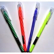 """Ручка кулькова масляна, синя, колір корпусу в асортименті - """"1 Вересня"""" 411055 (1 шт.)"""
