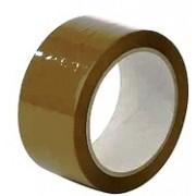 Скотч пакувальний коричневий якісний (45 мм х 100 м, 40 мкм)