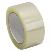 Скотч пакувальний прозорий якісний (45 мм х 100 м, 40 мкм)