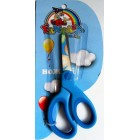 Ножиці  дитячі (пластмасові ручки, сині) - FANTASY - TY-833S (1 шт.)