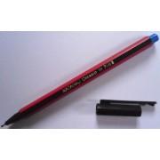 Набір ручок кулькових NATARAJ, 5 штук (синя - 2шт., зелена, червона, чорна - по 1шт.)