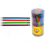 Олівець чорнографітний з гумкою NEON - CLASS-119 (1 шт., колір в асортименті)