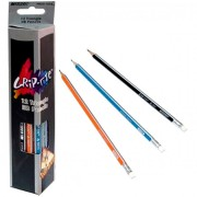 Олівець чорнографітний з гумкою Marco - 9001E-12CB (1 шт.)