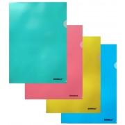 Папка-уголок А-4 пластиковая SCHOLZ-01310