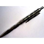 Ручка кулькова автоматична з чорнилом синього кольору - СРІБЛО (1 шт.)
