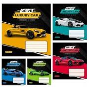 Зошит 12 арк.клітинка Люкс, Lux Cars, ТЕ11111